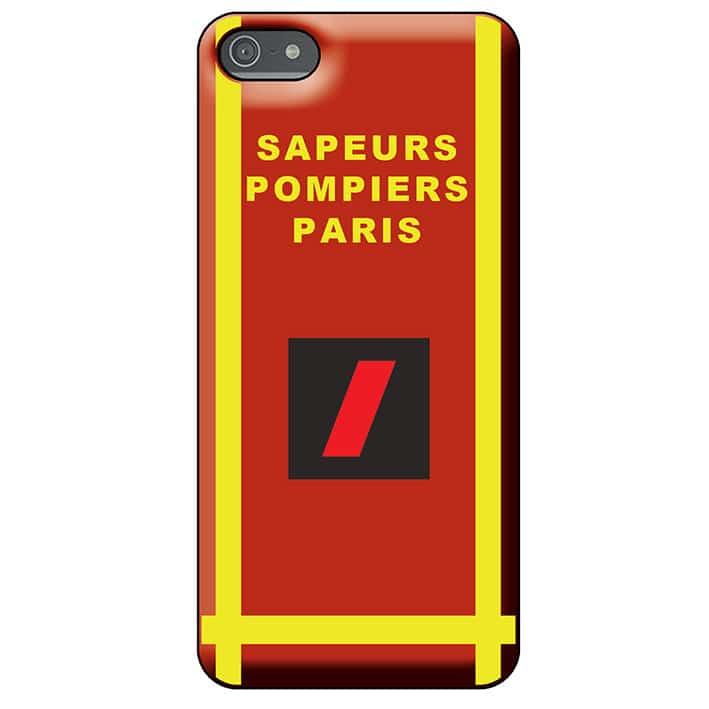 Coque téléphone Pompiers - Grade BSPP- Nouvelle Tenue