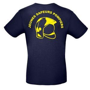 Tee-shirt JSP casque F1 en vente sur La Boutique des Pompiers