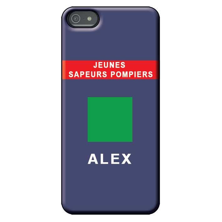 Coque téléphone Pompiers - Grade T-shirt JSP
