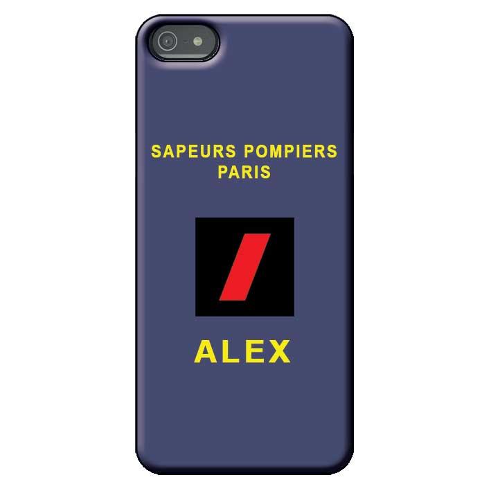 Coque téléphone Pompiers - Grade Polo BSPP