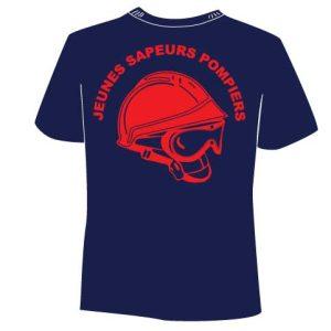 Tee Shirt JSP, Jeunes Sapeurs Pompiers