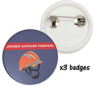 badge JPS jeunes sapeurs pompiers