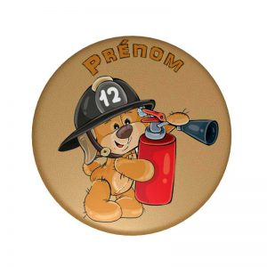Badge pompier personnalisé
