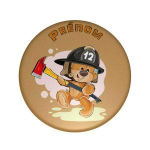 Badge-pompier-personnalisé