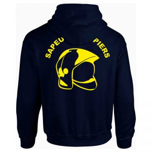Sweat Capuche pompier - La Boutique des Pompiers