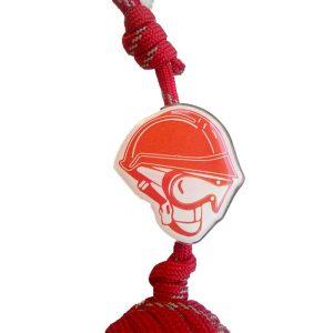 Porte clé pompier - Pomme de Touline