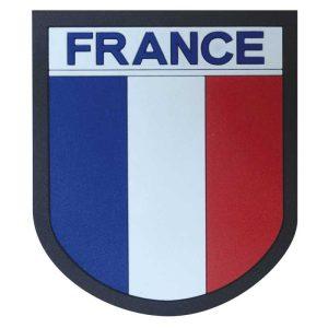 Ecusson-France-silicone