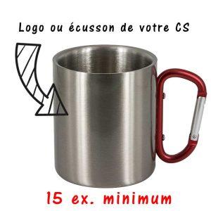 Mug Inox Pompier